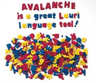 lauri avalanche alphabet letters