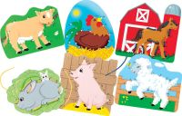 lacing cards dot-2-dot farm animals