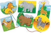 lacing cards dot-2-dot alphabet animals