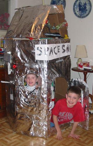 octa-clip space ship