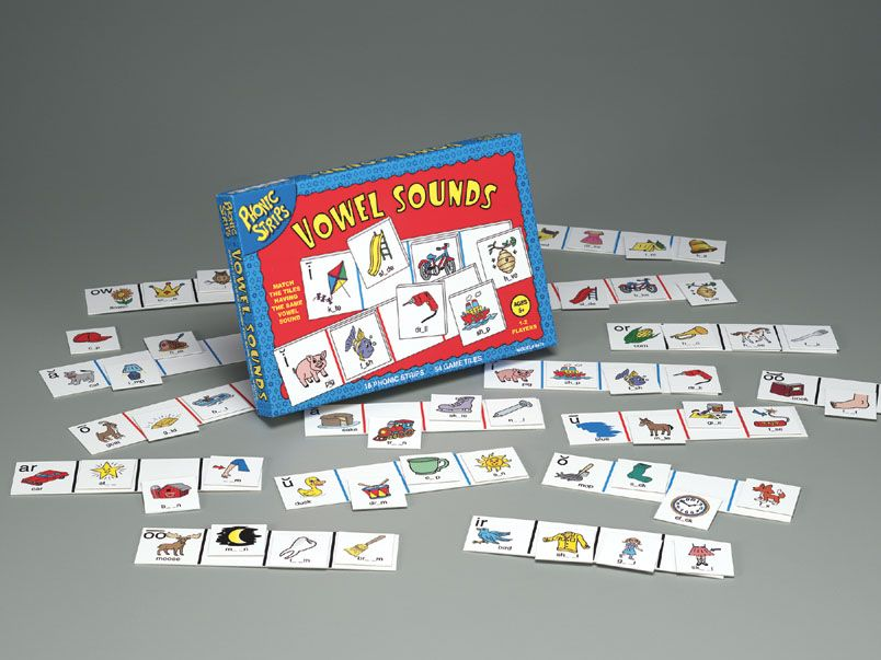 Phonic Sounds Game Vowel Sounds Phonic Strip