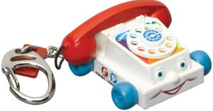 Fisher Price Chatter Phone Keychain