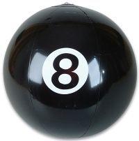 8 ball beach ball