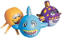 Animal Head Beach Balls