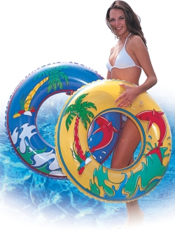 tropical swim ring