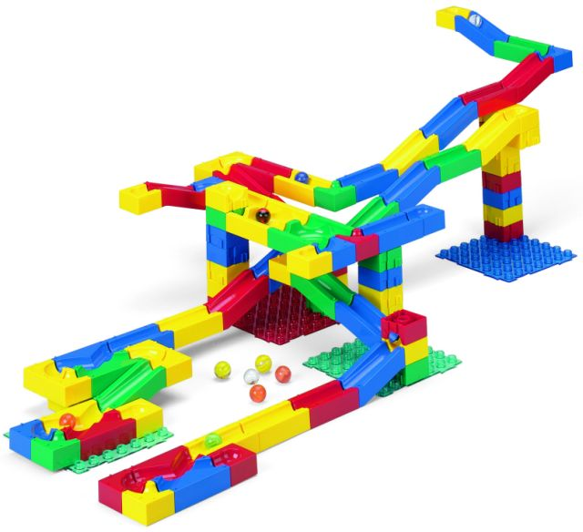 Marble Toys For Boys : Block n roll marble run building maze toys complete line