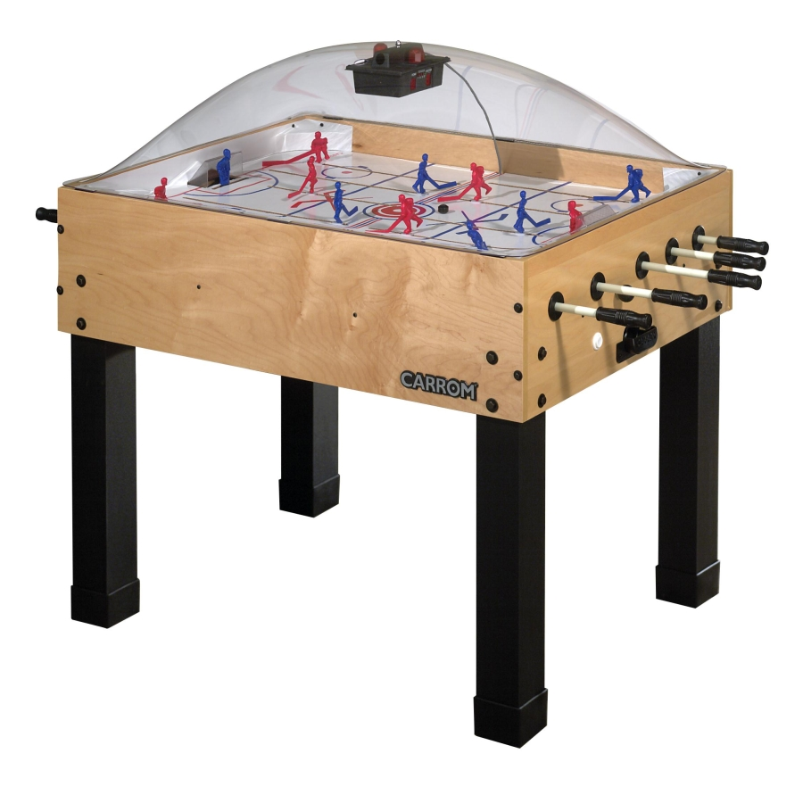 Rod hockey game table for Table hockey
