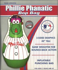 Phillie Phanatic Bop Bag