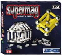 102 piece Supermag toy set