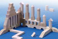 large starter wooden block set