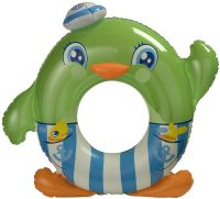 green penguin swim ring