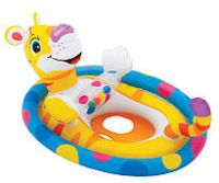 tiger see me sit pool rider (toddler float)