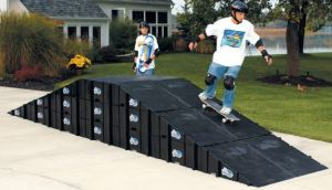 Skate Board Ramp >> Landwave Extreme Sports Ramp Skateboarding Ramp Skate Board For Sale