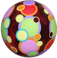 Giant Colorful Circles Beach Ball