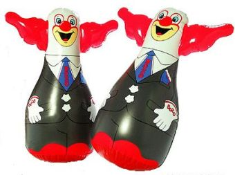 Executive Bozo Mini Bop Bag