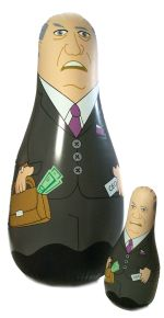 Executive Bozo Bop Bag