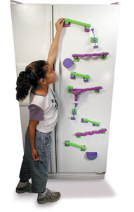 Frigits Magnetic Refrigerator Marble run