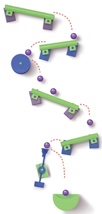 Frigits Regular Magnetic Marble Run